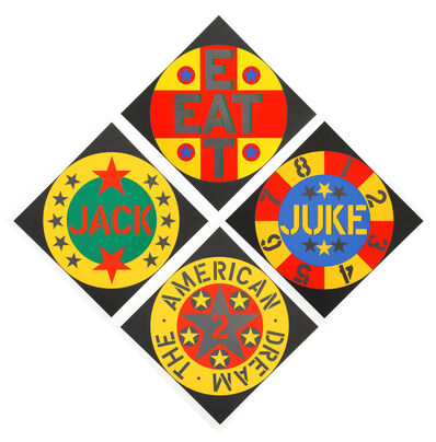 Robert Indiana, 'The American Dream #2 Suite', 1982