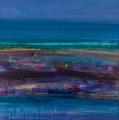 Anna Somerville, 'Teal Beach Scape', 2020