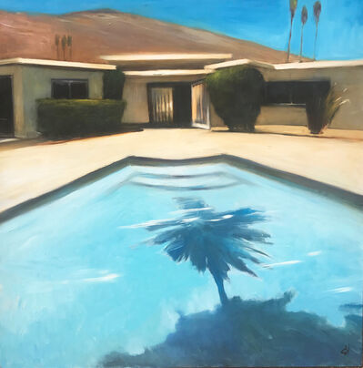 Scott Yeskel, 'Palm Pool', 2018