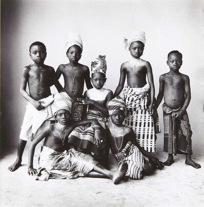 Irving Penn, 'Dahomey Children', 1967