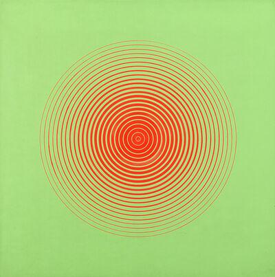 Marina Apollonio, 'Rosso su verde fluorescente 6A', 1966