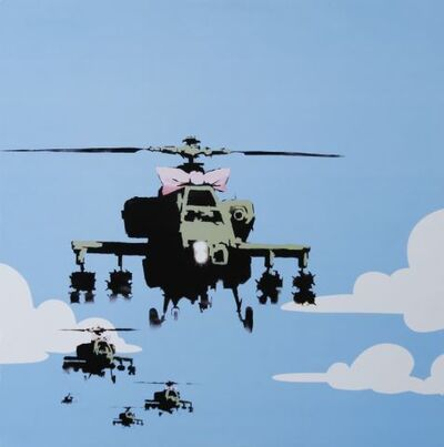 Banksy, 'Dirty Funker Flat Beat (Happy Choppers)', 2000-2010