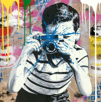 Mr. Brainwash, 'Smile', 2019