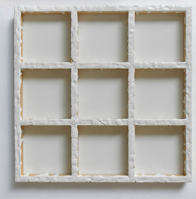Sigfredo Chacón, 'Grid White #3', 2019