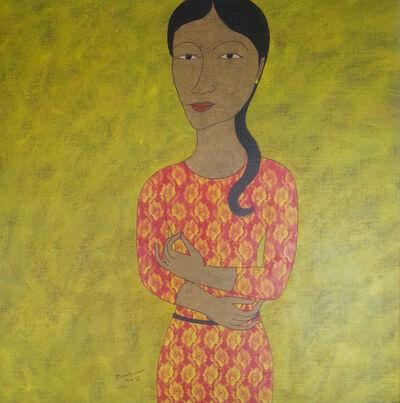 Min Zaw, 'Standing Lady ', 2015