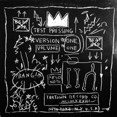 Jean-Michel Basquiat, 'Beat Bop', 2001