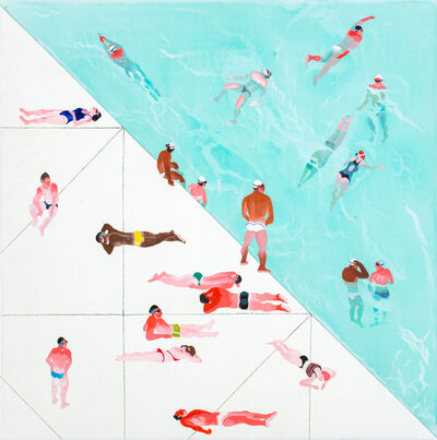Yang-Tsung Fan, 'Diagonal Pool', 2016