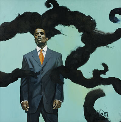 Kehinde Wiley, 'Conspicuous Fraud Series #1', 2001