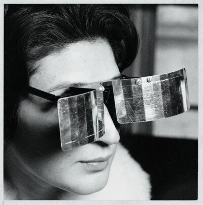 Julio Le Parc, 'Martha Le Parc with Lunettes pour une vision autre (Eyeglasses for Another Vision)', 1965