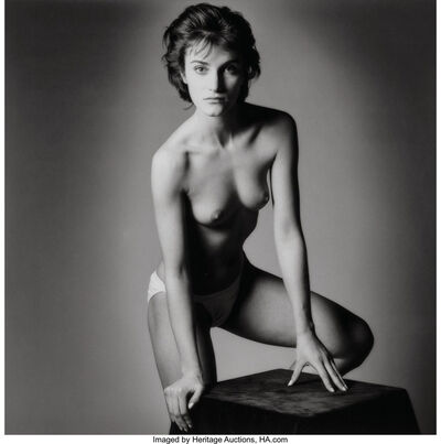 Jeanloup Sieff, 'Untitled (Front Facing Nude)', 1985