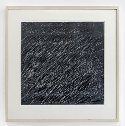 Cy Twombly, 'Untitled (from on The Bowery)', 1969-71