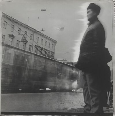 Alexey Titarenko, 'Untitled (Man at Tram Stop) ', 1992