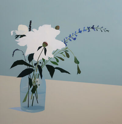Greta Van Campen, 'Bouquet with White Peonies', 2020