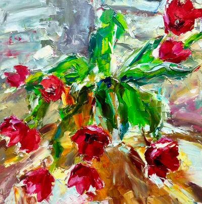 Lyudmila Agrich, 'Spring Tulips', 2019