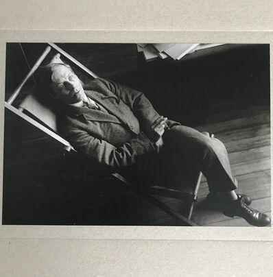 Alexander Rodchenko, 'The Poet Nikolai Aseev', 1997