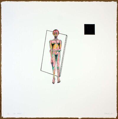 Luis Cruz Azaceta, 'The Artist', 2011