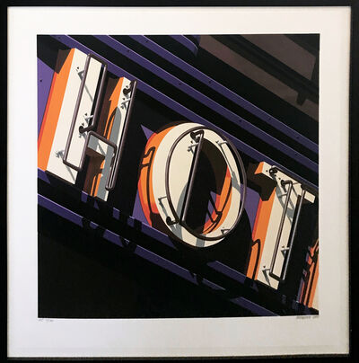 Robert Cottingham, 'HOT', 2009