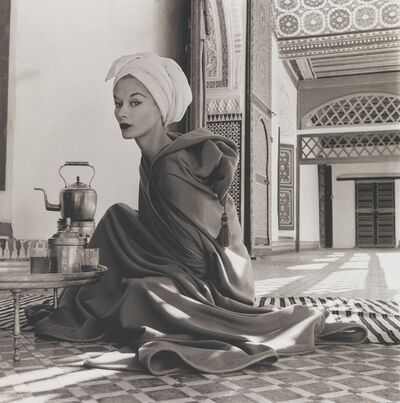 Irving Penn, 'Woman in Moroccan Palace (Lisa Fonssagrives-Penn), Marrakech', 1951-printed 1969
