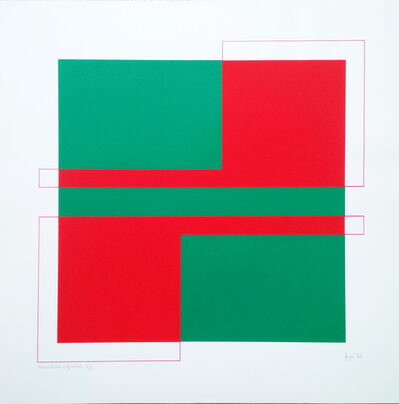 János Fajó, 'Simultaneous squares ', 1983