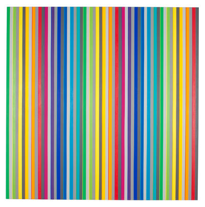 Gabriele Evertz, 'Twelve Hues and Three Grays (Optic Drive)', 2012
