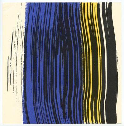 Hans Hartung, 'Lithograph', 1971