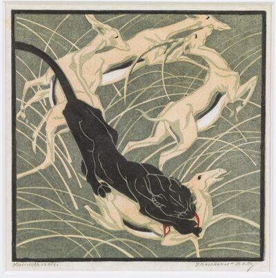 Norbertine Bresslern-Roth, 'Attack', 1922