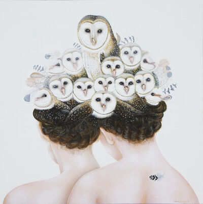 Corinne Boureau, 'White ladies', 2019