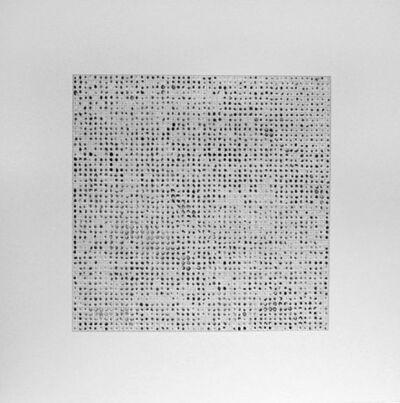 Teo Gonzalez, '2500 Drops of Ink #5', 1995