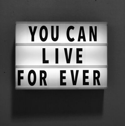 April Marten, 'You Can Live For Ever', 2018