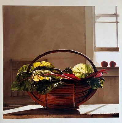 Peter C. Jones, 'Swiss Chard, Kitchen, Large Format Photo 24X20 Color Photograph Beach House RI', 2000-2009
