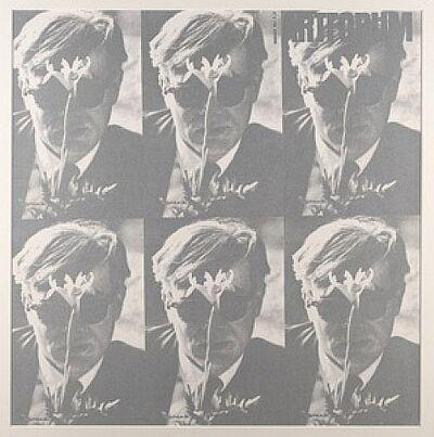 Dennis Hopper, '1964 Art Forum-Andy Warhol (Light Silver Version) Unique Color Variant ', 1988