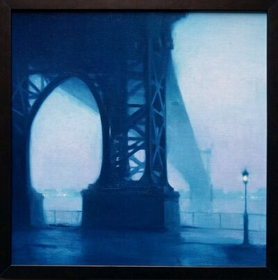 Stephen Bauman, 'Rainy Day, Williamsburg Bridge', 2017
