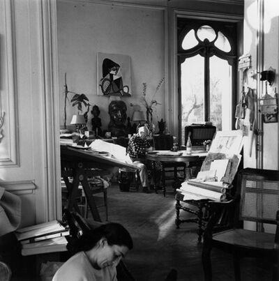 Lucien Clergue, 'Picasso et Jacqueline (Cannes 1956)', 1956