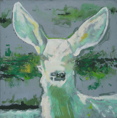 Brent Godfrey, 'TF 4 ( green fawn)', 2017-18