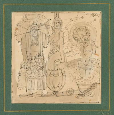 Fortunato Depero, 'Bagnanti', 1923-24 c.