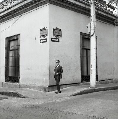 Yvonne Venegas, 'Self-Portrait Downtown in a Suit', 2019
