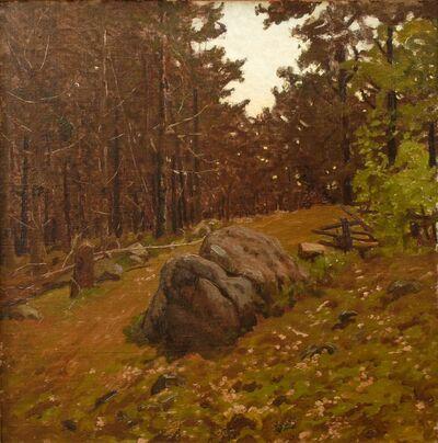 Ben Foster, 'Hillside Boulders', ca. 1910