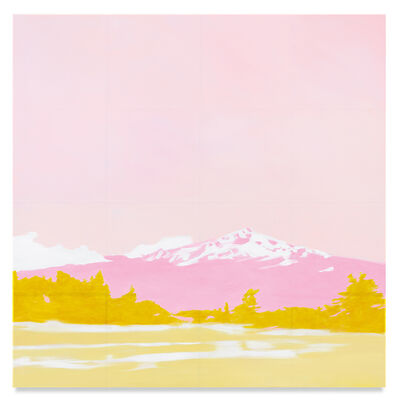 Isca Greenfield-Sanders, 'Pink Mountain', 2020