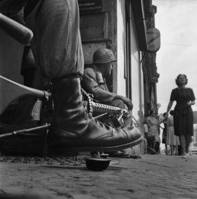 Don McCullin, 'Near Checkpoint Charlie, Berlin', 1961