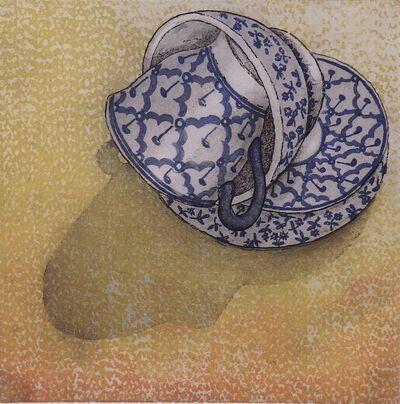 Monica Chivas, 'Blue & White 4', 2017