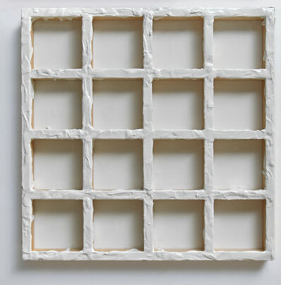 Sigfredo Chacón, 'Grid White #1', 2019