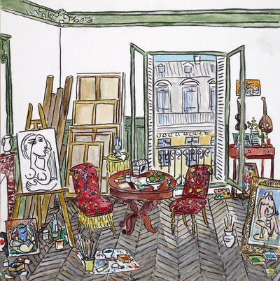 Damian Elwes, 'Picasso's Studio, Rue de la Boetie', 2016