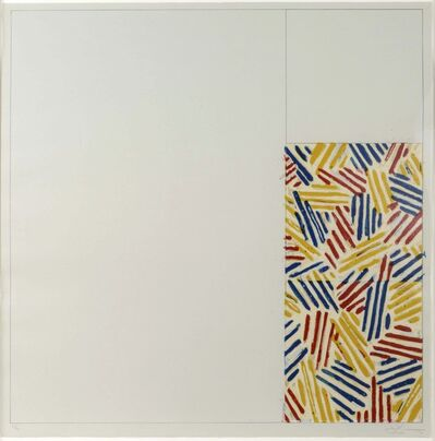 Jasper Johns, '#4 (After Untitled 1975)', 1976