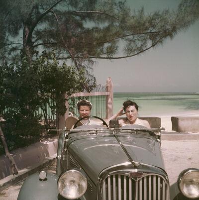 Slim Aarons, 'Katharine Hepburn And Irene Mayer Selznick', 1953