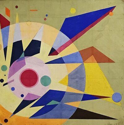Rolph Scarlett, 'Equilibrium', ca. 1935