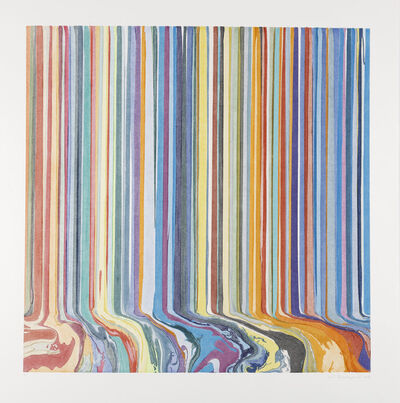Ian Davenport, 'Autumn Ghost 'Half Light'', 2019