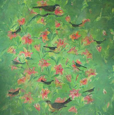 Bruce Helander, 'A Flock of Flowers', 2019