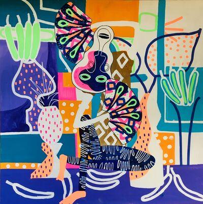 Frantisek Florian, 'African Figures 8', 2019