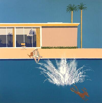 Mychael Barratt, 'Hockney's Dog - An Even Bigger Splash', 2018
