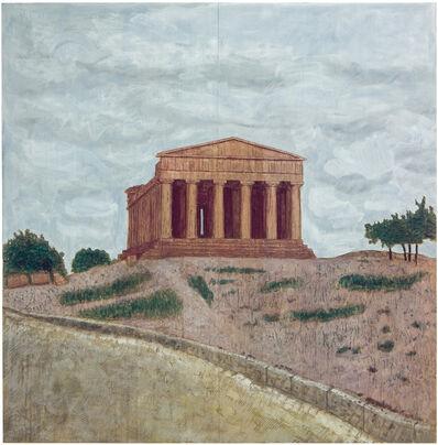 Stephan Balkenhol, 'Tempel (Relief)', 2004